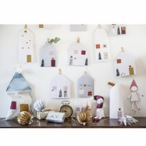 "FABELAB kreativer DIY Adventkalender ""In Fairy Town"""