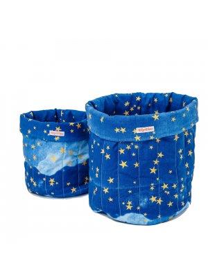 Spielzeugsack-blau-gold-sterne-set