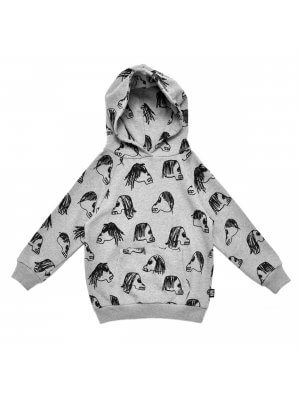 LITTLE MAN HAPPY hoodie Skulls