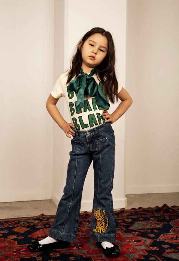 MIni-Rodini-T-shirt-blah-Mädchen