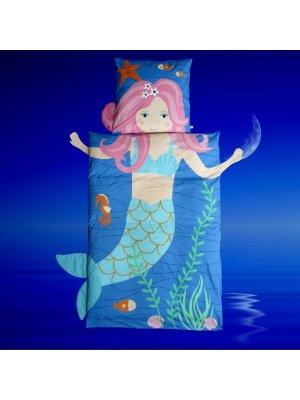 Bettwäsche-Meerjungfrau-kinder