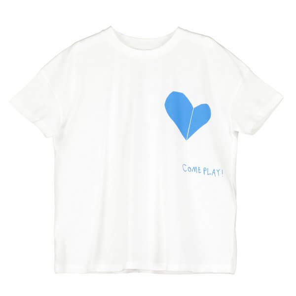 BEAU LOVES short sleeved square t-shirt Come pla