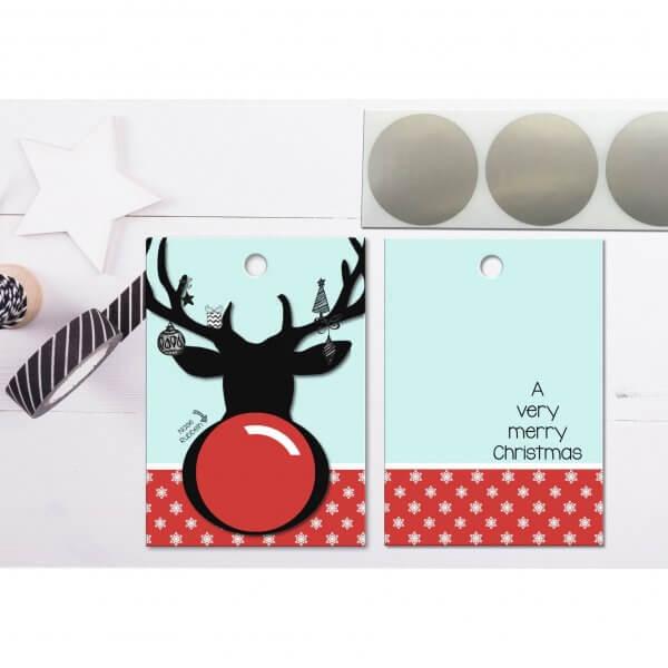 Rubbelkarte-gutschein-voucher-rentier-weihnachtskarte-persoenlich