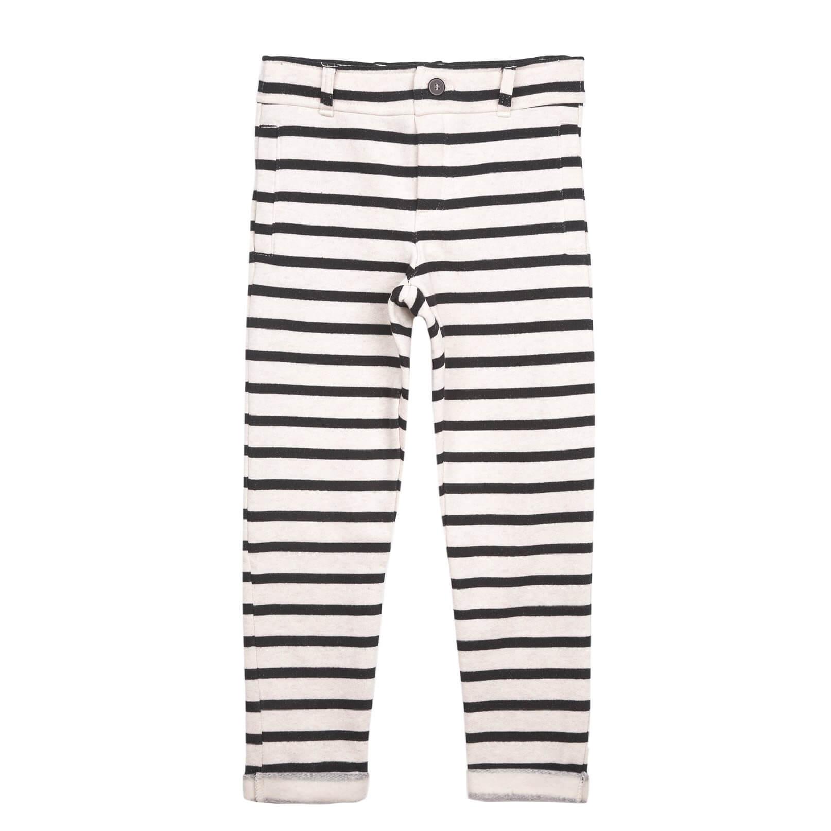 EMILE ET IDA striped duffle trousers