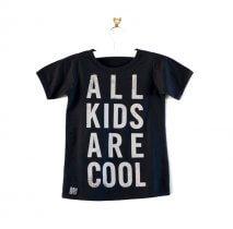Bandit Kids Mädchen T-Shirt A.K.R.C. Schwarz