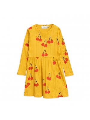 Mini Rodini basic dress cherry