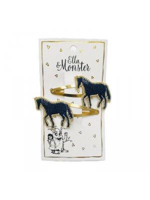 Ella & Monster Haarspangen Pferde