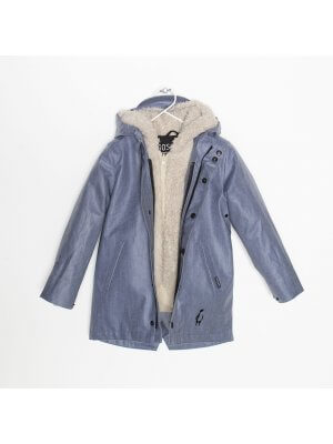 Rain outdoor 3-in1 jacket denim look Gosoaky