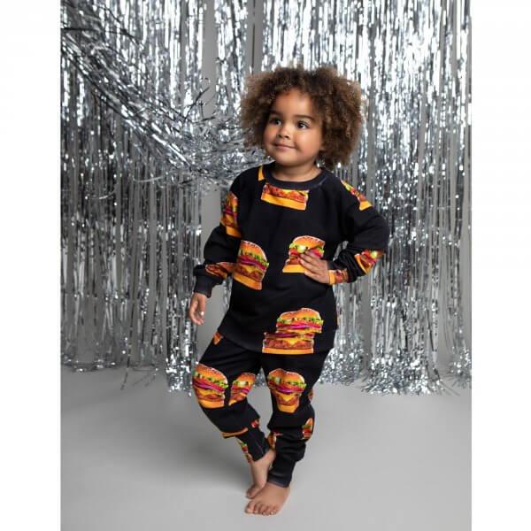 Romey-loves-lulu-pullover-cheeseburger-hamburger-mädchen