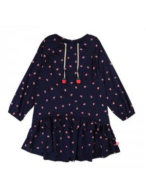 Billieblush blaues kleid Erdbeeren