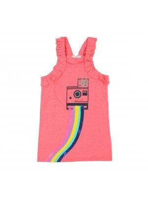 Billieblush Sommerkleid Kamera. Französische Kindermode