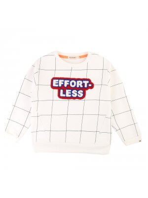 "Billybandit weißer Kinder Pullover ""Effortless"""