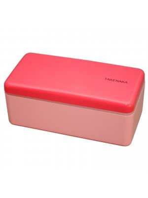 TAKENAKA original Bento Box/Snack Box schmal. Rose