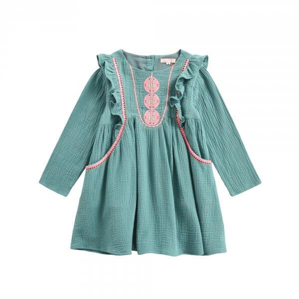 Louise Misha Kinderkleid paracas lichen