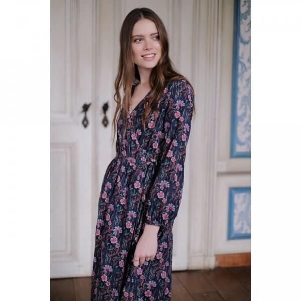Louise Misha Frauen kleid Emely stormy flowers 6
