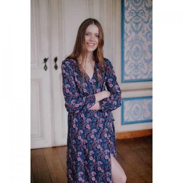 Louise Misha Frauen kleid Emely stormy flowers 3