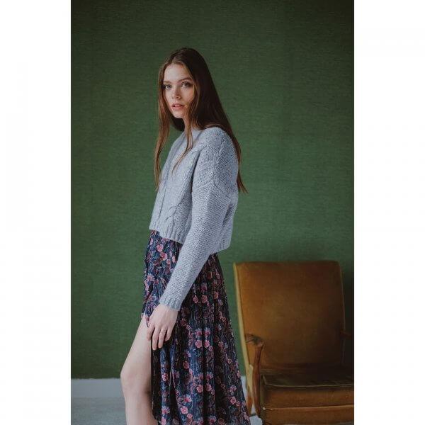 Louise Misha Frauen kleid Emely stormy flowers 4