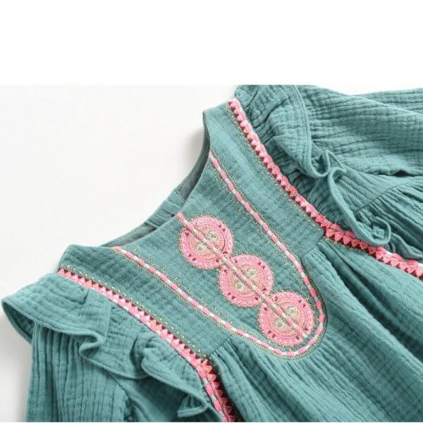 Louise Misha Kinderkleid paracas lichen Detail
