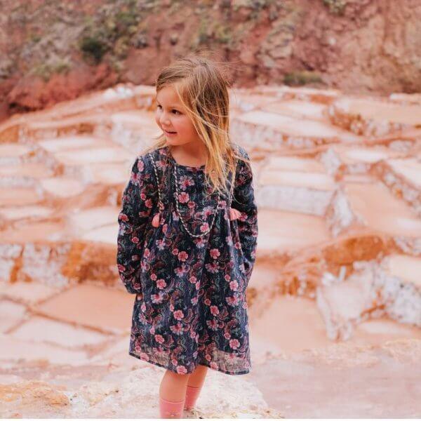 Louise Misha Mädchen Kleid roulotta Blumen