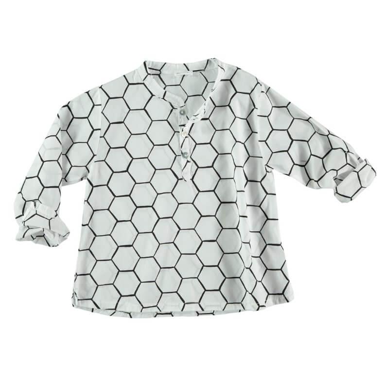 PICNIK BARCELONA Shirt/Hemd mit Knöpfen Combs