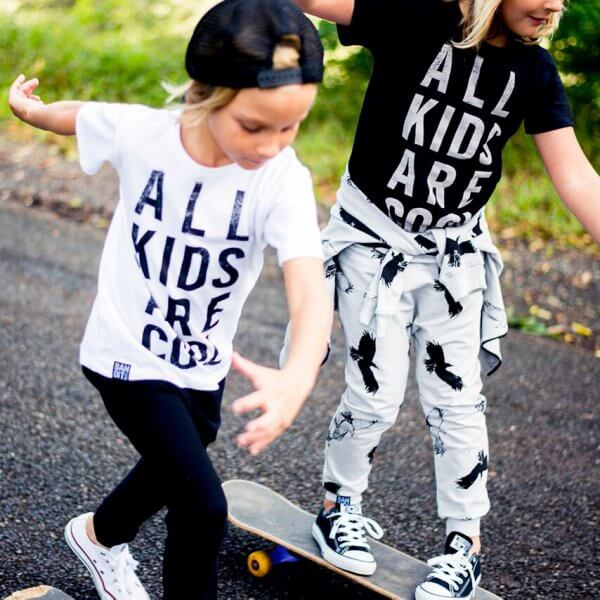 Bandit kids weißes T-shirt all kids are cool kids