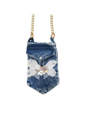 denim phone purse DOLLY