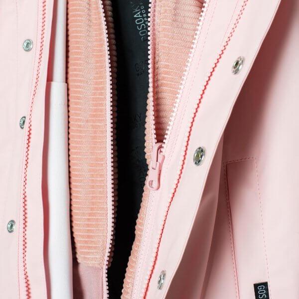 Gosoaky 3-in1-outdoorjacke-kinder-pink-detail