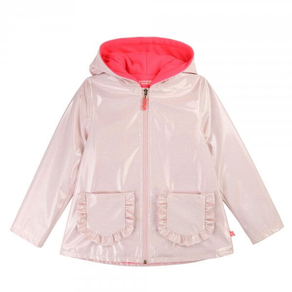 Billieblush raincoat pink girl