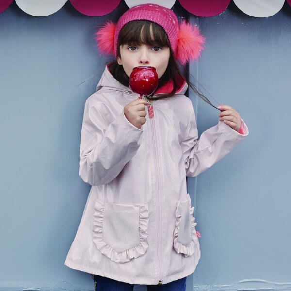Billieblush raincoat pink girl rainwear kids