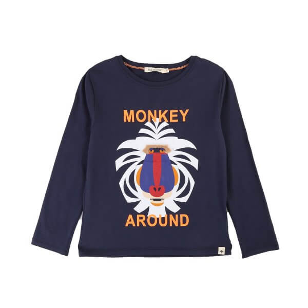 Billybandit-T-shirt-Junge-Monkey
