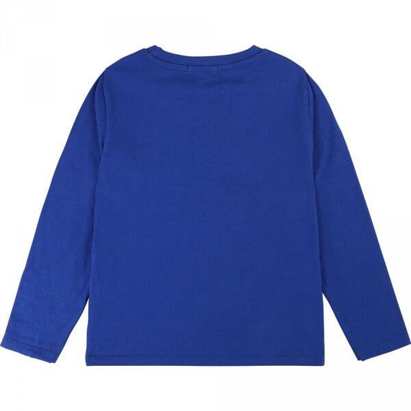 Billybandit-blue-t-shirt-tennis-back