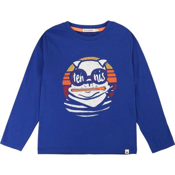 Billybandit-blue-t-shirt-tennis
