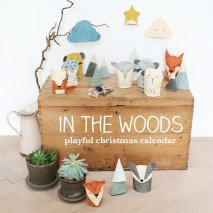 "Fabelab Adventskalender ""In the woods"""