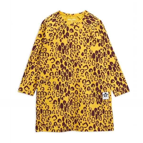 leopard-kleid-gelb