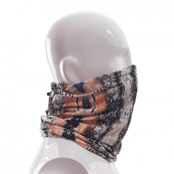 Gesichts-Masken-Schal-loop-schlange-orange