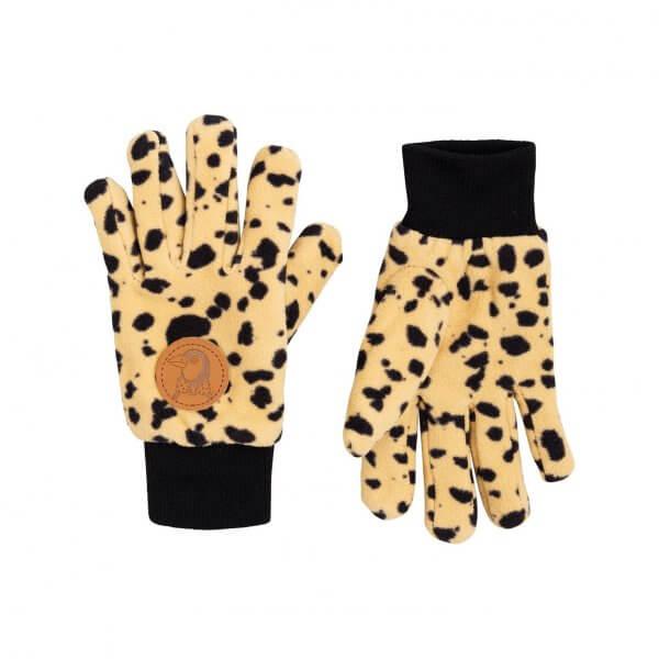 Mini Rodini Fleecehandschuhe Leopard