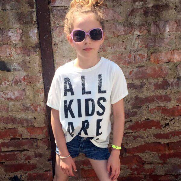 Bandit kids weißes T-shirt all kids are cool Mädchen