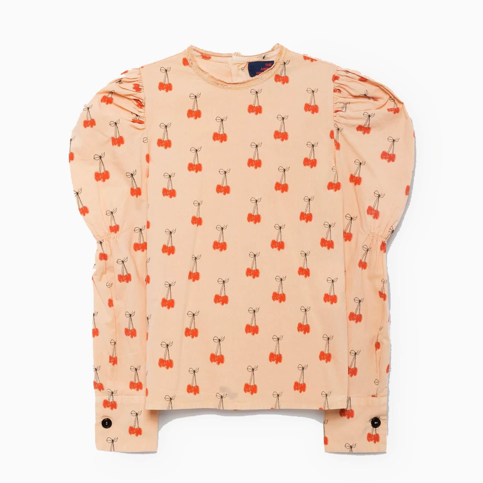 THE ANIMALS OBSERVATORY Flamingo-shirt Kirschen