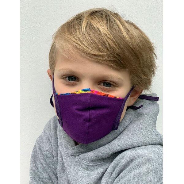 Kinder-maske-lila