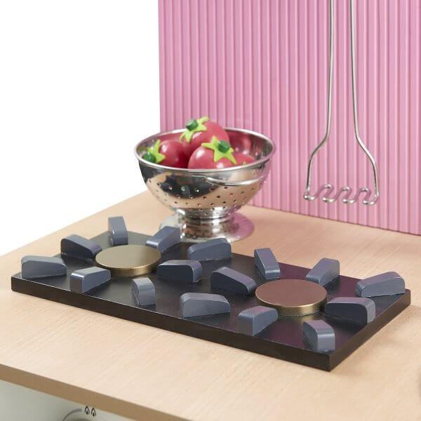 Musterkind Spielküche rosa Detail