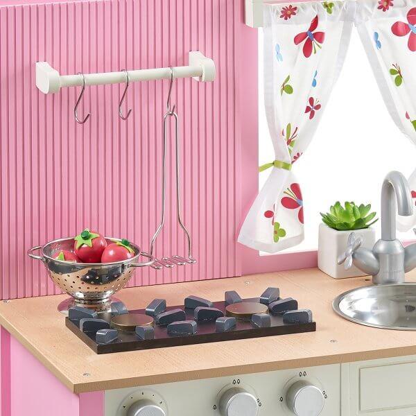 Musterkind Kinderküche Holz rosa