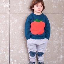 NADADELAZOS knit jumper tomato