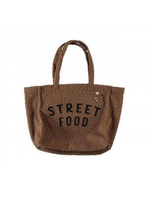 Piupiuchick extra große Teddy-Tasche. Streetfood.