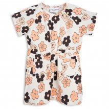 MINI RODINI T-Shirtkleid Flowers