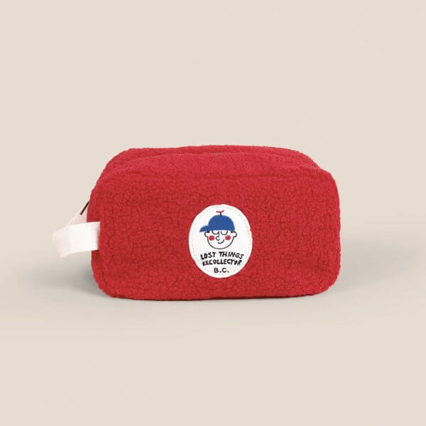 Bobo_Choses_red_sheepskin_pouch