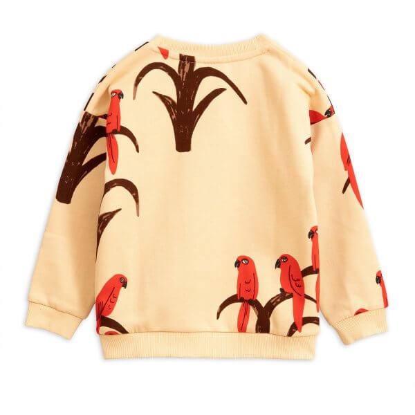Mini rodini kids sweater parrot new