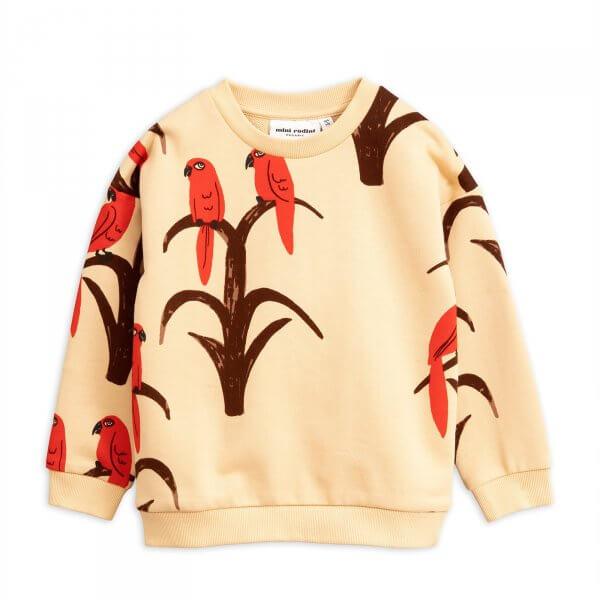 Mini rodini kids sweater parrot