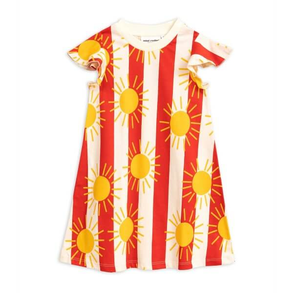 mini rodini sun stripe dress front