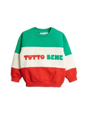 Mini Rodini unisex Kinder-Sweatshirt Tutto bene