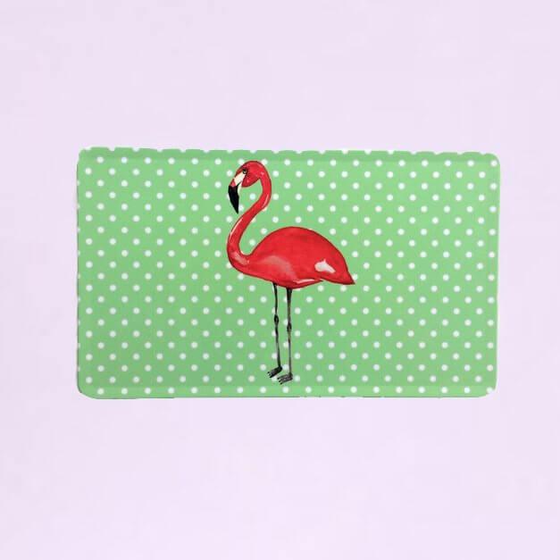 BY MARLENE Frühstücksbrettchen Flamingo